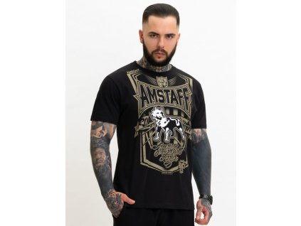 Amstaff tričko PERIGOR black