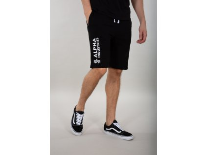 Alpha Industries šortky pánske BASIC SHORT AI Black