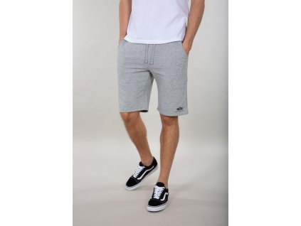 Alpha Industries Basic Short SL grey pánske šortky