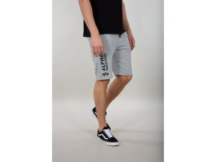 Alpha Industries šortky pánske BASIC SHORT AI Grey