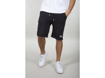 Alpha Industries Basic Short SL black pánske šortky