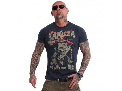 Yakuza STUPIDITY tričko pánske TSB 18048 midnight navy7