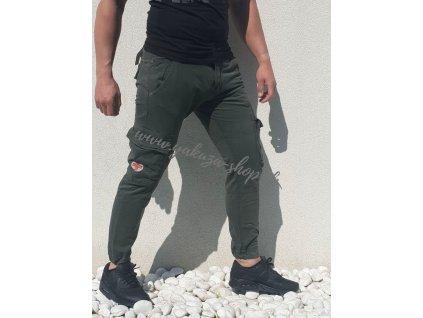 Alpha Industries nohavice pánske RESCUE Pant greyblack