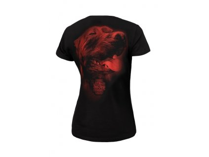 PitBull West Coast dámske tričko SAN DIEGO lV black