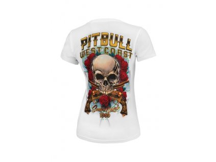 PitBull West Coast dámske tričko SANTA MUERTE white