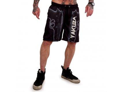 Yakuza plavkové šortky GAUCHO BSB 18065 black