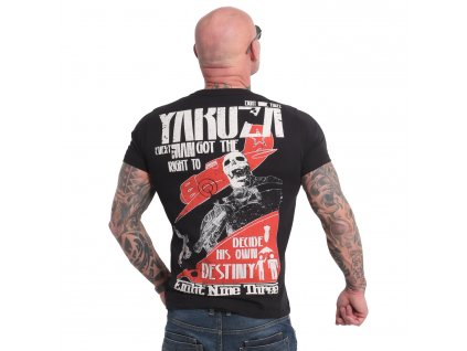 Yakuza RIGHT TO DECIDE tričko pánske TSB 18036 black