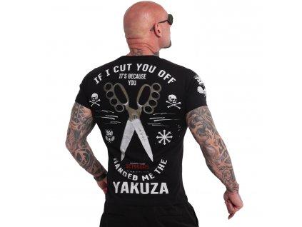 Yakuza SCISSORS tričko pánske TSB 18037 black