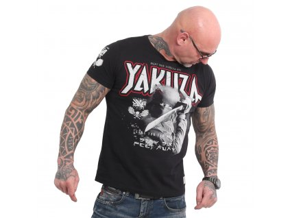 Yakuza SIX FEET tričko pánske TSB 18046 black