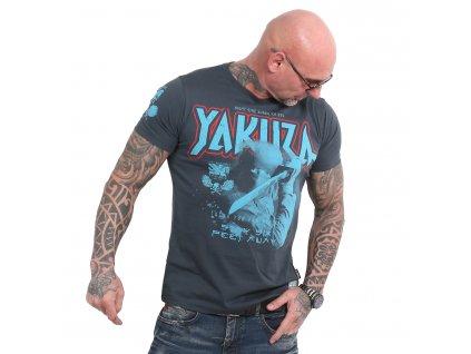 Yakuza SIX FEET tričko pánske TSB 18046 midnight navy