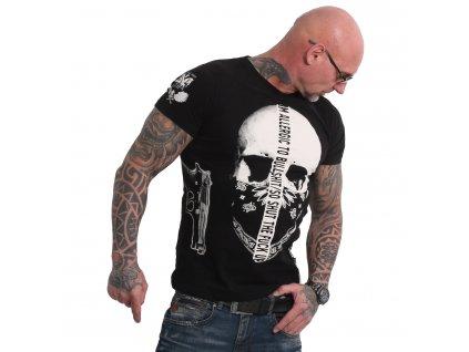 Yakuza GAUCHO tričko pánske TSB 18047 black