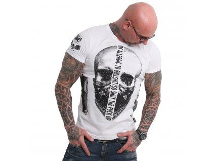 Yakuza GAUCHO tričko pánske TSB 18047 white