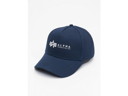 Alpha Industries ALPHA Cap šiltovka rep blue