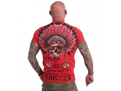 Yakuza DEATH DUTY tričko pánske TSB 18038 ribbon red