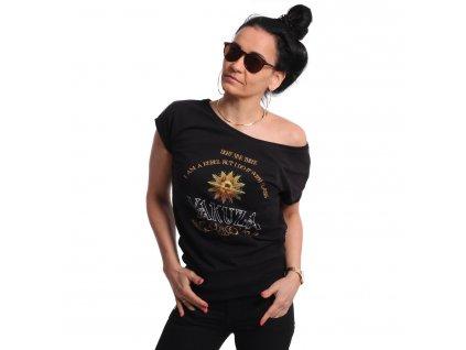 Yakuza REBEL WIDE Crew dámske tričko GSB 18139 black