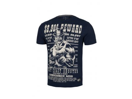 PitBull West Coast REWARD dark navy tričko pánske