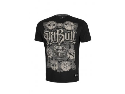 PitBull West Coast MULTISPORT black tričko pánske