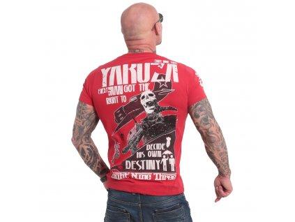 Yakuza RIGHT TO DECIDE tričko pánske TSB 18036 chili pepper