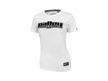 PitBull West Coast dámske tričko CLASSIC BOXING white