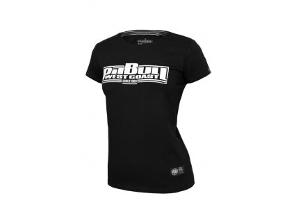 PitBull West Coast dámske tričko CLASSIC BOXING black