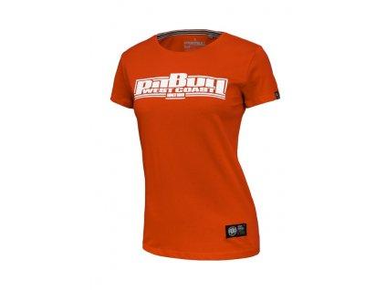PitBull West Coast dámske tričko CLASSIC BOXING red
