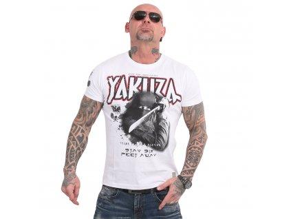 Yakuza SIX FEET tričko pánske TSB 18046 white