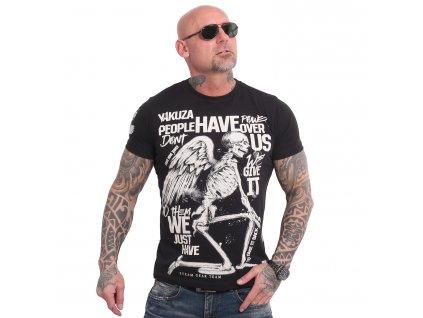 Yakuza POWER OVER US tričko pánske TSB 18040 black
