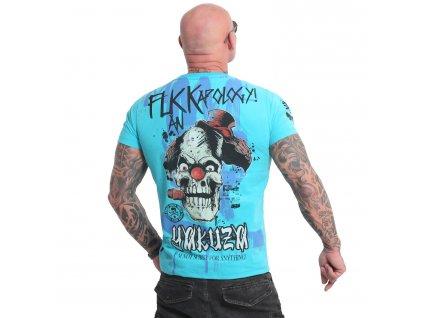 Yakuza APOLOGY tričko pánske TSB 18045 blue atoll