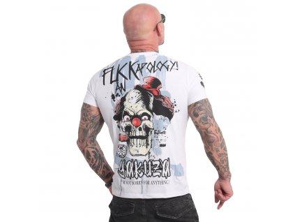 Yakuza APOLOGY tričko pánske TSB 18045 white