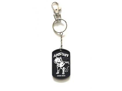 Amstaff prívesok na kľúče
