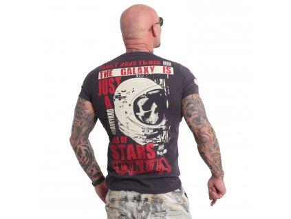 Yakuza GALAXY tričko pánske TSB 18044 anthracit