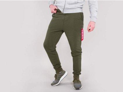 Alpha IndustriesteplákyX-Fit Slim Cargo Pant dark green