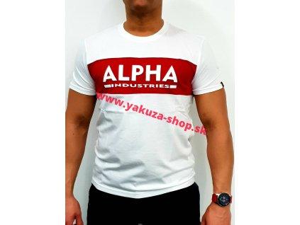 Alpha Industries Inlay T whitetričko pánske
