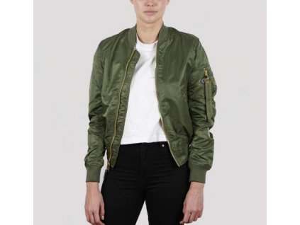 Alpha Industries MA-1 VF LW Reversible Wmn dámska bunda Sage green