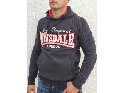 Lonsdale pánska mikina s kapucňou