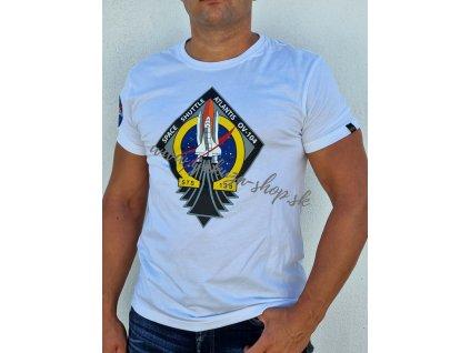 Alpha Industries Mission STS T tričko pánske white jediný 1 kus na Slovensku