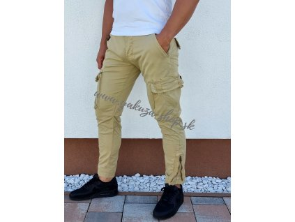 Alpha Industries nohavice Task Force Pant Sand