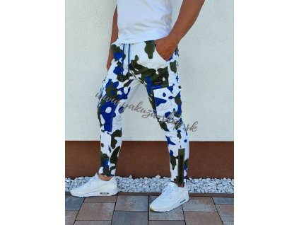 Alpha Industries nohavice Tactical Camo Jogger White