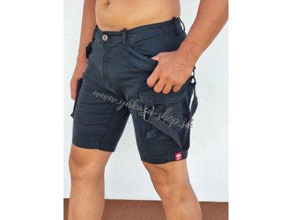 Alpha Industries Special OPS Short pánske šortky black