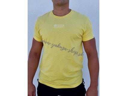 Alpha Industries Organic EMB T tričko pánske Organic Yellow