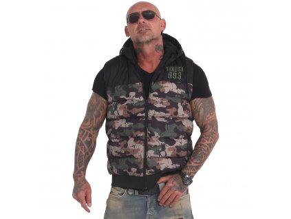 Yakuza vesta Fck Society VB 18035 camouflage