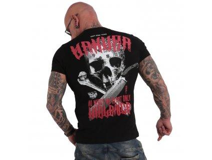 Yakuza No Mercy No Regret tričko pánske TSB 17088 black
