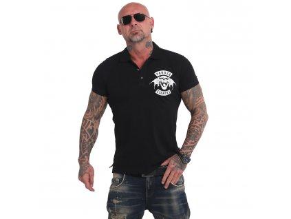 Yakuza polo tričko 893MC POLO TPO 17042 black A