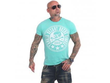 Yakuza INNER CIRCLE tričko pánske TSB 17041 turquoise