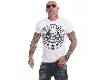 Yakuza INNER CIRCLE tričko pánske TSB 17041 white