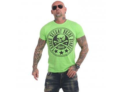 Yakuza INNER CIRCLE tričko pánske TSB 17041 jasmine green