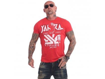 Yakuza NIPPON ZOMBIE tričko pánske TSB 17039 ribbon red