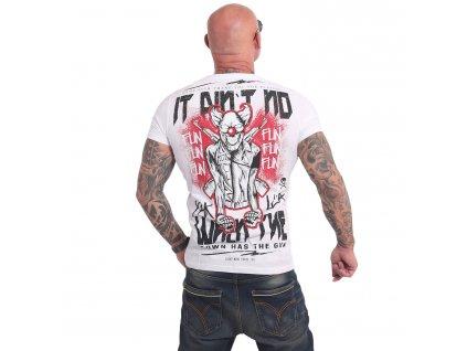 Yakuza NO FUN tričko pánske TSB 17032 white