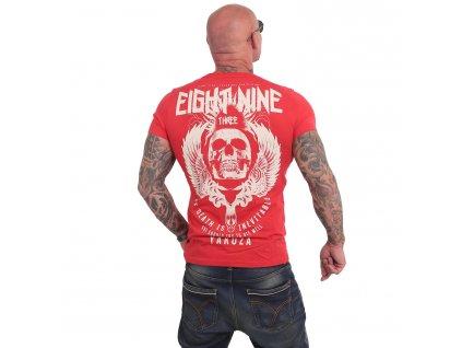Yakuza INEVITABLE tričko pánske TSB 17028 ribbon red