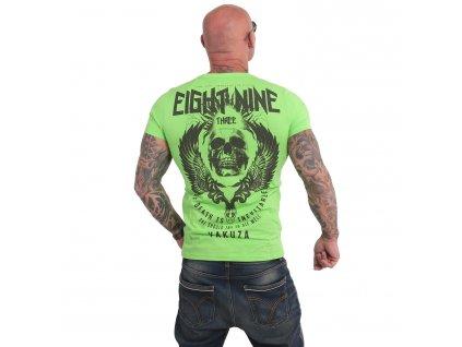Yakuza INEVITABLE tričko pánske TSB 17028 jasmine green